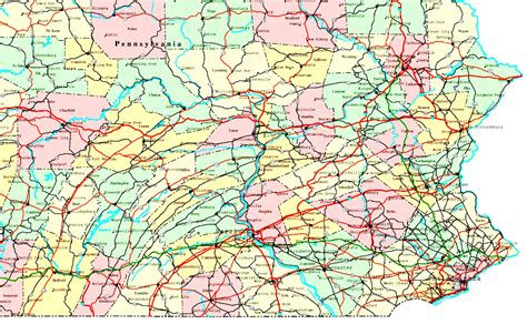 printable map of york pa map of eastern pennsylvania uptowncritters