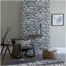 stein tapete wohnzimmer decoraci 243 n de living con piedras