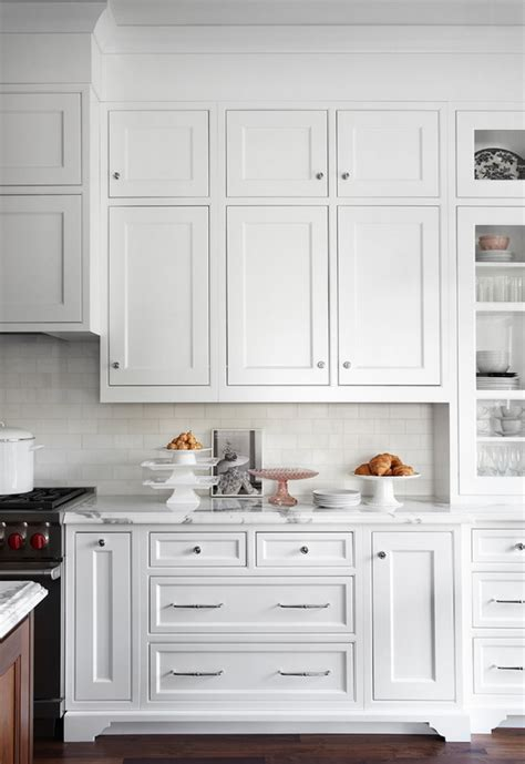 Stacked Kitchen Cabinets | calling it home stacked cabinets