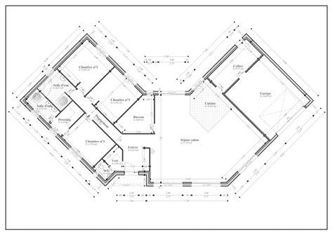 Plan De Maison Plein Pied En U plan de maison 180m 178 plein pied 40 messages