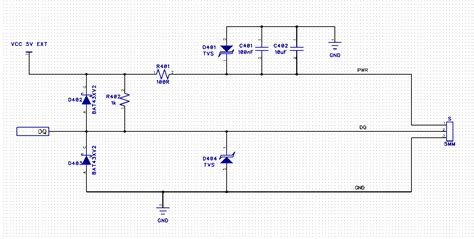 schottky diodes for esd protection microcontroller protect mcu pin from esd electrical engineering stack exchange