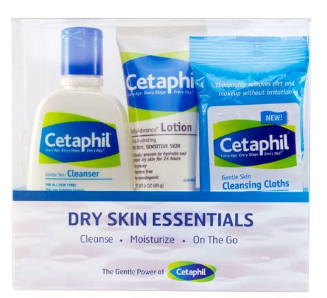 Cetaphil Travel Kit cetaphil skin essentials kit
