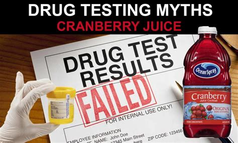 Rely Detox Work For Test by Pass A Test With Cranberry Juice Detox Pills Pass