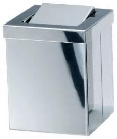 dwba square small countertop wastebasket trash can w