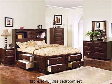 Wood Queen Bedroom Sets