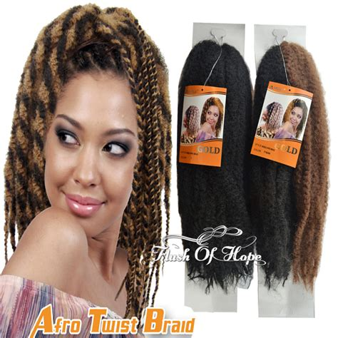 afro twist braid premium synthetic hairstyles for women over 50 premium 62inch noble gold afro kinky twist synthetic hair