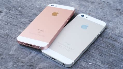 apple iphone se vs iphone 5s specifications features and performance comparison