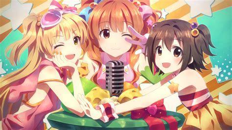 Wallpaper Idolmaster, Anime Group Girls, Moe   WallpaperMaiden