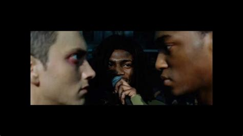 eminem movie phenomenon final rap battle 8 mile b rabbit vs papa doc clean