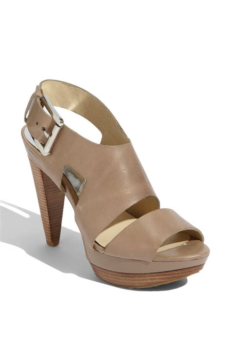 michael kors shoes michael kors carla platform sandal lucky shoes