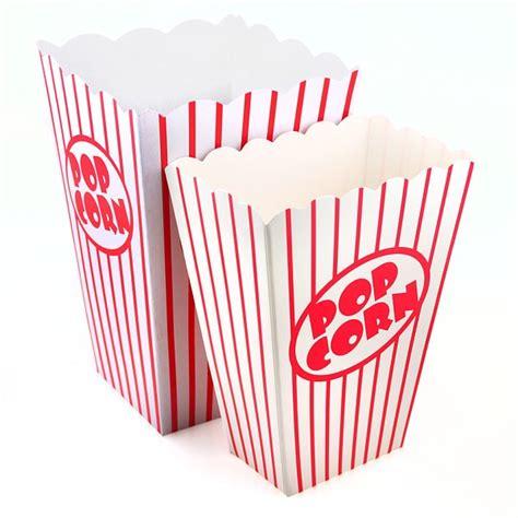 Small Bag Heejou Green Caja retro popcorn boxes in 2 sizes pipii