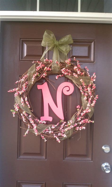 spring wreaths for front door spring front door wreath spring pinterest