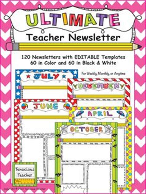 editable templates for teachers 1000 images about newsletter templates on