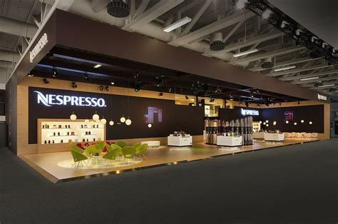 exhibition stands in berlin nespresso stand at ifa 2014 in berlin fairs pinterest
