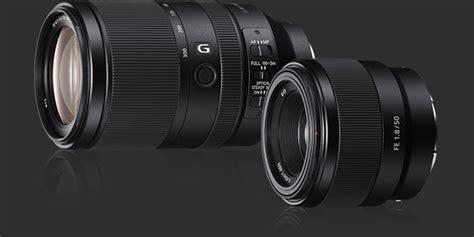 Sony Mirrorless A7 Fe 50mm F 1 8 sony fe 50mm f 1 8 fe 70 300mm f 4 5 5 6 g oss lenses