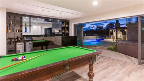 outdoor pool table nz poolside bar and room create the cave