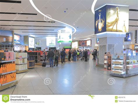 Shops Melbourne by Melbourne Airport Duty Free Shop Editorial Image Image 45319770