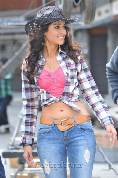 Indian Cotton Shirt Navel cowboys in ileana in checked shirt