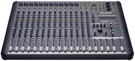 Mixer Audio 16 Channel mackie cfx16mkii 16 channel live sound mixer w fx pssl