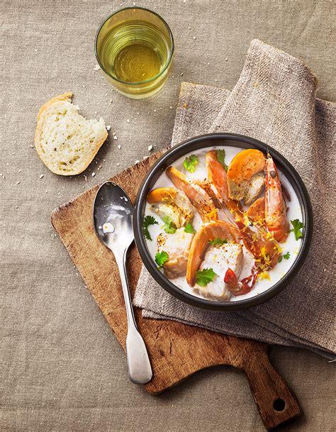 comptoir poisson exotique soupe de poisson exotique pour 6 personnes recettes