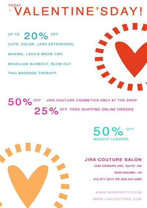 valentines day deals s day makeup specials mugeek vidalondon