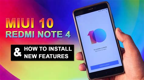 Miui 10 For Samsung Galaxy Note 4 by Redmi Note 4 Miui 10 Look How To Install