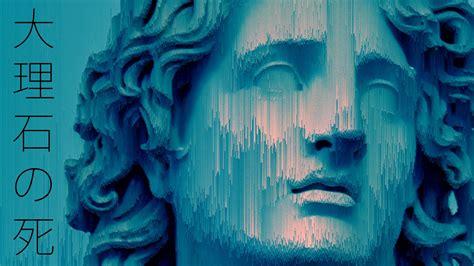 statue glitch art vaporwave hd wallpapers desktop