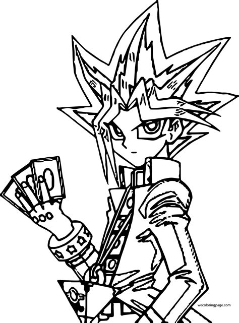Yu Gi Oh Coloring Pages Wecoloringpage Coloring Pages Yugioh