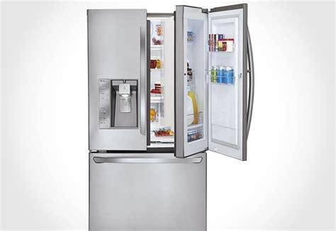 Door Refrigerator by Lg Lfx31945st Door In Door Refrigerator Mikeshouts