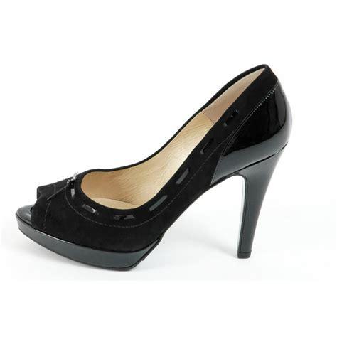 black high heel evening shoes kaiser pallia high heel evening shoes in black
