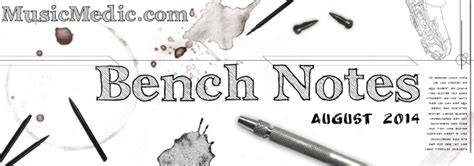 bench notes bench notes 22 sax proshop