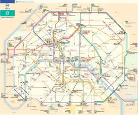 Bus Routes Map by Paris Bus Route Map French Paris France Mappery