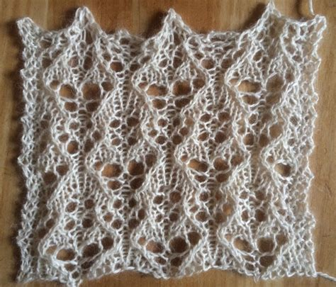 knitting lace stitches a free lace knitting stitch pattern string geekery