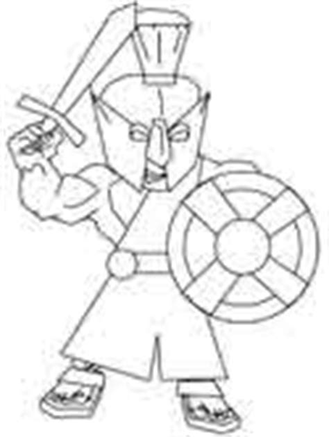coloring page of trojan greece coloring pages