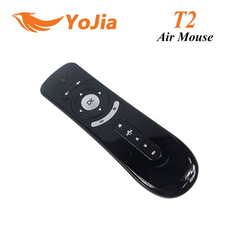 Mouse Wireless Airmouse2 New gyroscope mini fly t2 air mouse 2 4g wireless keyboard mouse android remote 3d sense