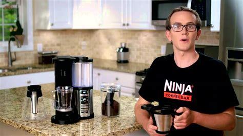 ninja coffee bar clean light on ninja coffee bar how to clean youtube