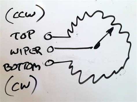 potentiometer wiring diagram blazer wiring diagrams sle