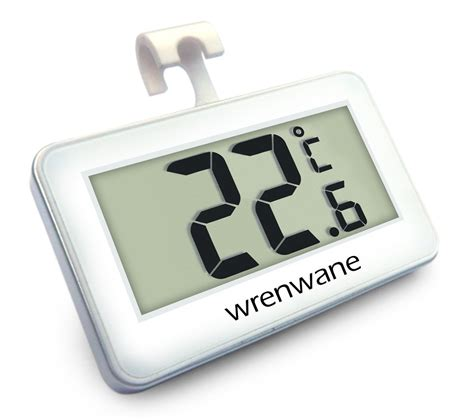 Termometer Freezer wrenwane digital refrigerator thermometer review