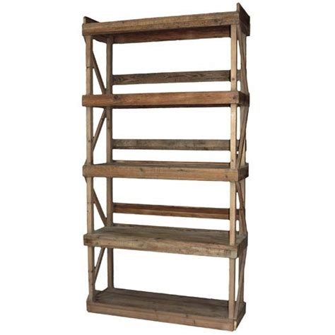 librerie rustiche libreria rustica legno massello etnico outlet mobili