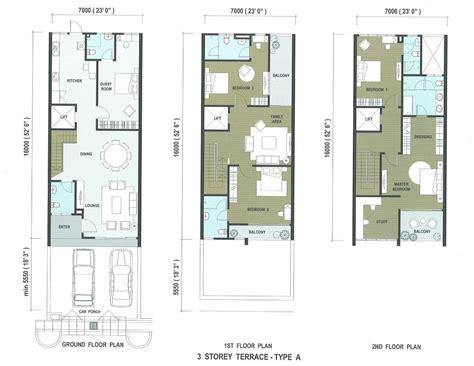 1 desa residence floor plan taman sungai ara penang property talk