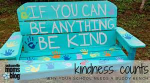 buddy bench for schools kindness counts why your school needs a buddy bench