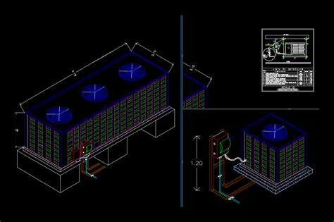 air handlers 2d dwg block for autocad � designs cad