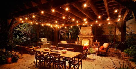 creative outdoor lighting using christmas lights