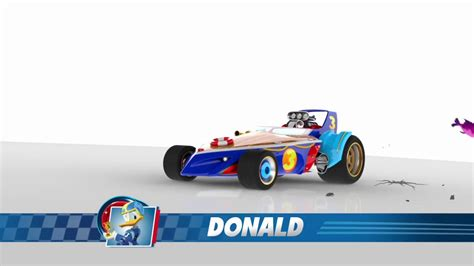 Donald Duck Racer mickey and the roadster racers donald s roadster