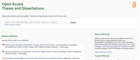 open access dissertations and theses 11 buscadores de tesis doctorales que aportar 225 n mayor