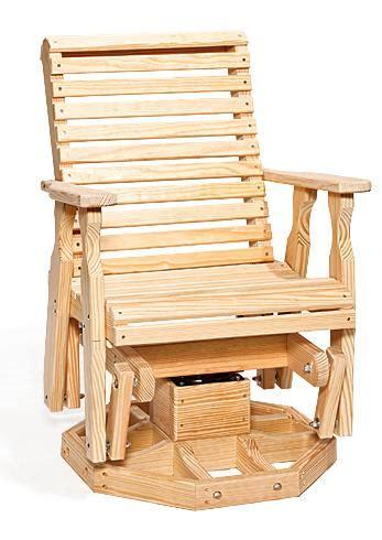 amish outdoor swivel glider chair amish pine glider chair