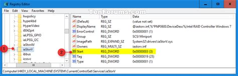 windows 10 registry tutorial ahci enable in windows 8 and windows 10 after