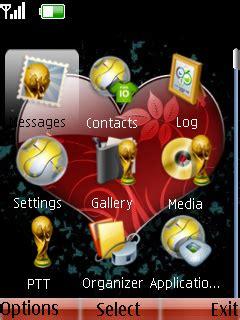 mobile heat blog spot nokia s40 theme heart core download heart theme nokia theme mobile toones