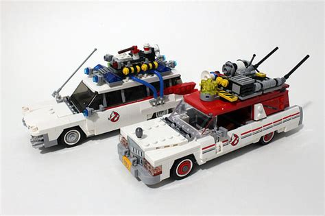 Barang Original Lego 75828 Ghostbusters Ecto 1 2 Ideas lego ghostbusters ecto 1 2 75828 review the brick