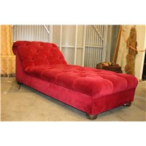 red velvet chaise lounge large oversize 7 chaise lounge in tufted red velvet